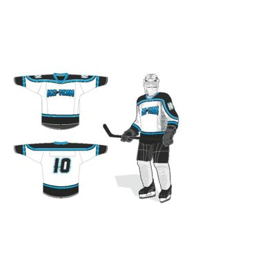 Ice Team Raseborgs spelskjorta