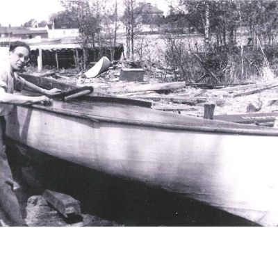 Börje Linderman år 1954