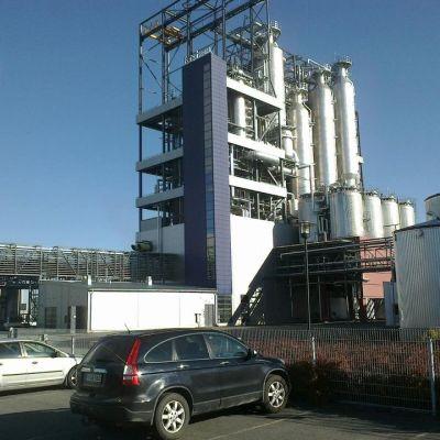 Forchemin tehdas Raumalla.