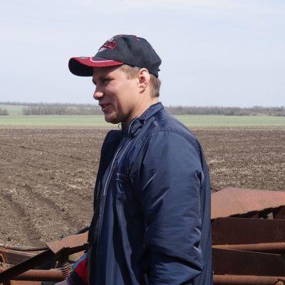 Nicolai Tschibotaevilla on 75 hehtaaria maissipeltoa.