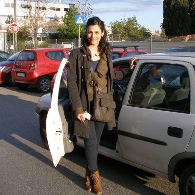 Ateenalainen Alexandra Kyriakidou joudutti ajokorttia 200 eurolla