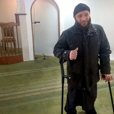 Grimhøj-moskeijan johtaja Osama el Saadi on herättänyt kohua lausunnoillaan.