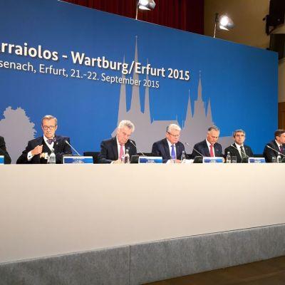 Eurooppalaisten presidenttien tapaaminen Saksassa.