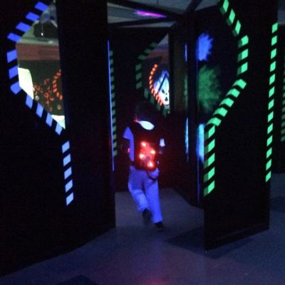 Megazone-laserpelihalli