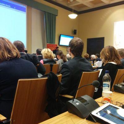 Vaasan kaupunginvaltuusto kokouksessaan 16. marraskuuta 2015