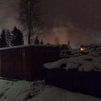 Tulipalo Oulussa