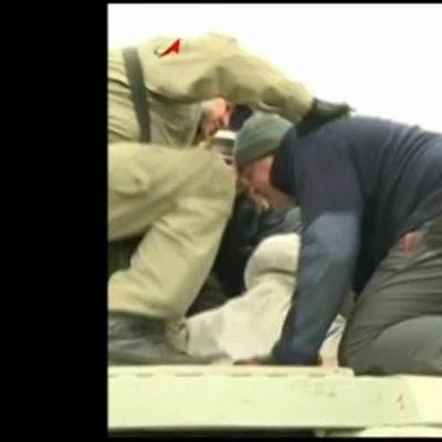 Uutisvideot: Astronautit palasivat maan pinnalle