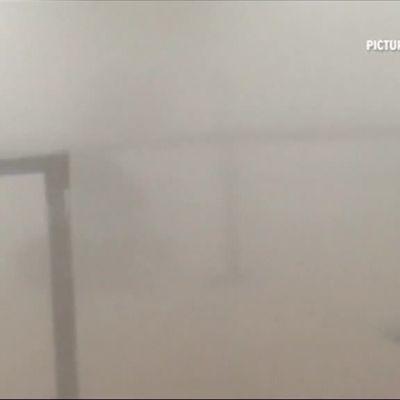 Uutisvideot: Brysselin lentoasemalla kaaos räjähdyksen jälkeen