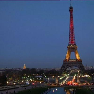 Uutisvideot: Brysselin iskuja surtu ympäri maailmaa