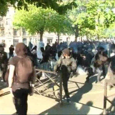 Uutisvideot: Poliisi ja mielenosoittajat ottivat yhteen Pariisissa