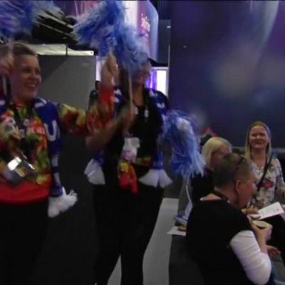 Uutisvideot: Tunnelmia euroviisujen backstagelta