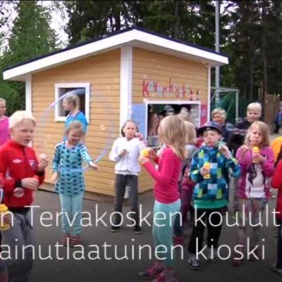 Yle Uutiset Häme: Kaverikioski toi riemun takaisin välitunnille