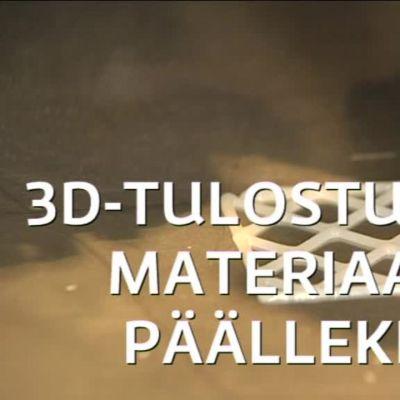 Uutisvideot: 3D-tulostamalla kehitetään yksilöllisiä välipaloja
