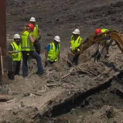 Uutisvideot: Rakennustyömaalta löytyi vanha laivan hylky Bostonissa