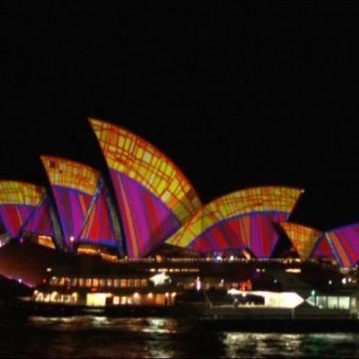 Uutisvideot: Yli 90 taideteosta hohtaa Sydneyn valofestivaalilla