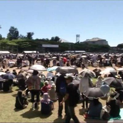 Uutisvideot: Okinawassa osoitettiin mieltä USA:n joukkoja vastaan