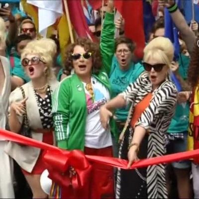 Uutisvideot: Sateenkaarikansa juhli Lontoossa