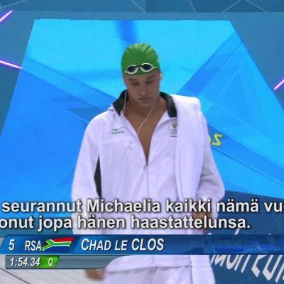 Rion olympialaiset: Chad Le Clos – mies, joka päihitti Phelpsin
