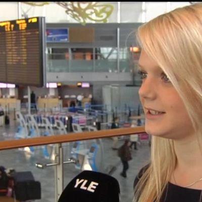 Rion olympialaiset: Arkistoista: 17-vuotias Emilia Pikkarainen tapasi tulevan puolisonsa Arto Nybergissä vuonna 2010