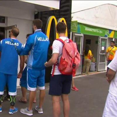 Mättöruokaa Rion urheilijoille