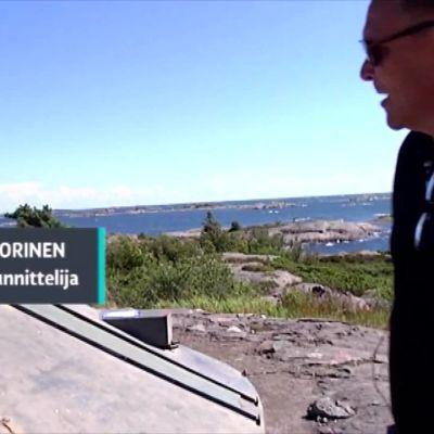 Yle Uutiset Lounais-Suomi: Örön bunkkereissa sukelletaan sotahistorian syövereihin
