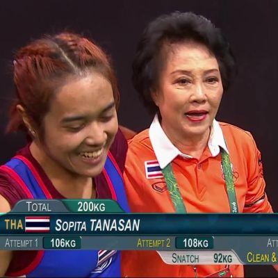 Rion olympialaiset: Helppoa ja kivaa - Thaimaan Sopita Tanasanille rauta kevyttä