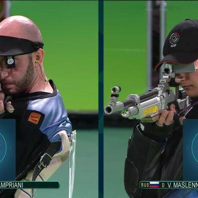 Rion olympialaiset: Ilmakiväärin olympiakulta Italian Camprianille