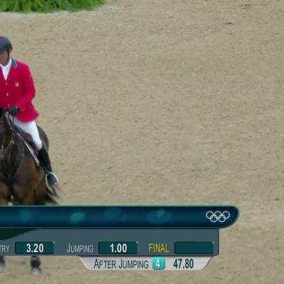 Rion olympialaiset: Kenttäratsastuksen kultaa Saksan Jungille - virheetön suoritus finaalikierroksella