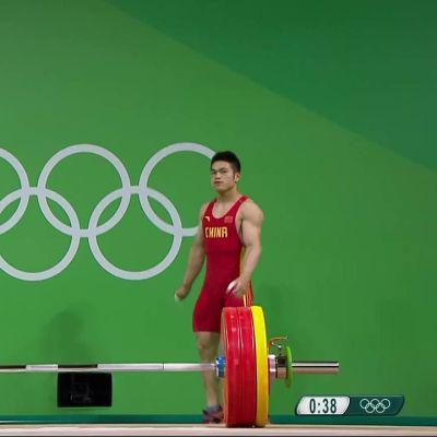 Rion olympialaiset: Miesten 69kg painonnosto ratkesi vain kilon erolla
