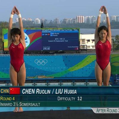 Rion olympialaiset: Kiinan Chen Ruolinille uran viides olympiakulta!