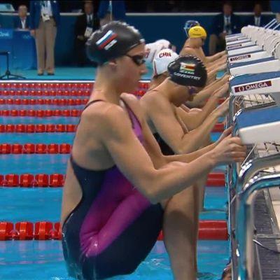 Rion olympialaiset: Uskomaton trilleri naisten 200m selkäuinnissa
