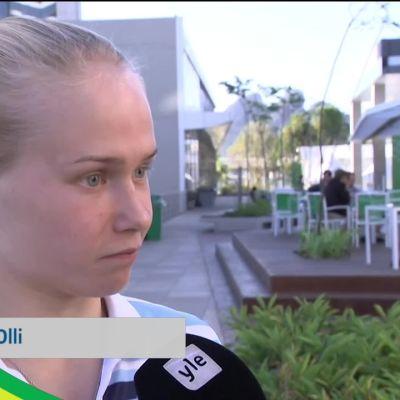 Rion olympialaiset: Petra Olli on saapunut Rioon.