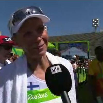 """Rion olympialaiset: Hyryläinen kärsi vatsaongelmista olympiamaratonilla: """"Loppu oli tosi rankka"""""""