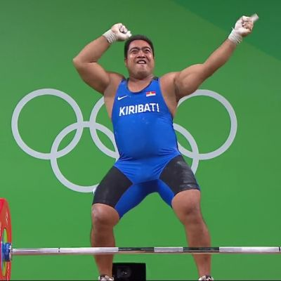 Rion olympialaiset: Kiribatin painonnostajan tanssituuletukset naurattavat