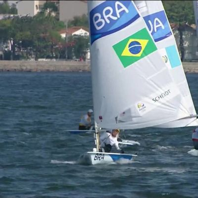 Rion olympialaiset: Tom Burton purjehti Laser-luokan olympiakultaan