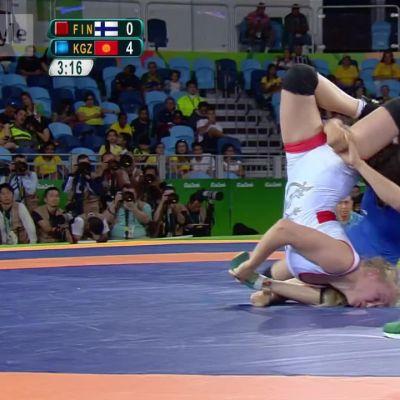 Rion olympialaiset: Mitalisuosikki Petra Ollille tappio olympiapuolivälierässä