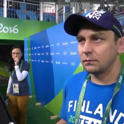 Rion olympialaiset: Ollin valmentaja Ahto Raska: Äärimmäinen pettymys