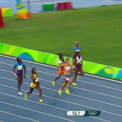 Rion olympialaiset: Thompson kruunattiin tuplamestariksi – Schippers antoi kovan vastuksen