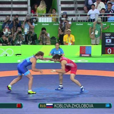 Rion olympialaiset: Ratkaisu sekunteja ennen loppua: Kaori Ichōlle neljäs olympiakulta