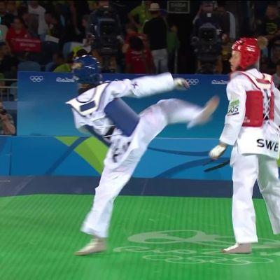 Rion olympialaiset: Suvi Mikkonen taipui puolivälierissä