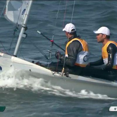Rion olympialaiset: Miesten 470-purjehduksen kulta Kroatiaan