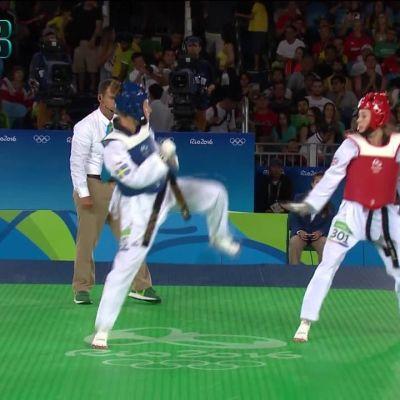 Rion olympialaiset: Jade Jones murskasi Suvi Mikkosen mitalitoiveet!