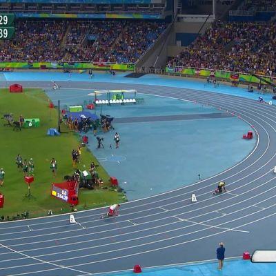 Rion olympialaiset: Yhdysvallat juhli myös miesten 4x400 metrillä