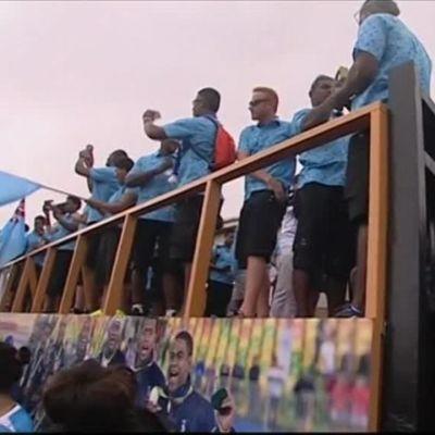Rion olympialaiset: Fidzin olympiavoittajat palasivat sankareina