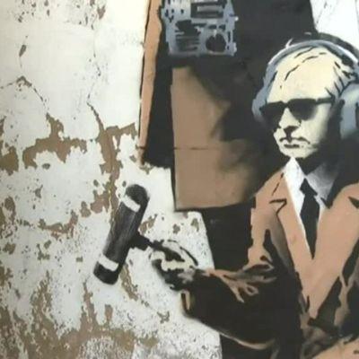 Uutisvideot: Banksyn taideteos tuhoutui remontin yhteydessä