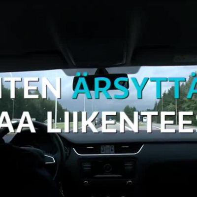 Neljä asiaa, jotka ärsyttävät suomalaisia liikenteessä kympillä