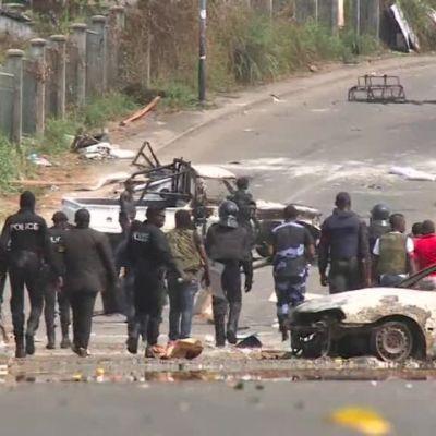 Uutisvideot: Levottomuuksia Gabonissa