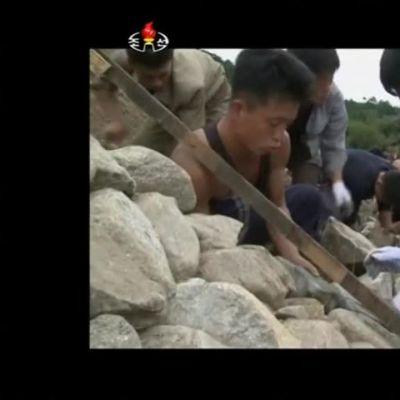 Uutisvideot: Pohjois-Korean televisio uutisoi tulvat