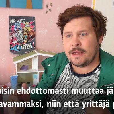 Yle Uutiset Häme: Janne Kataja vanhempainvapaista