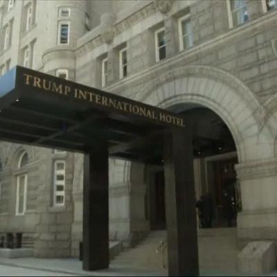 Uutisvideot: Trump avasi uuden luksushotellin